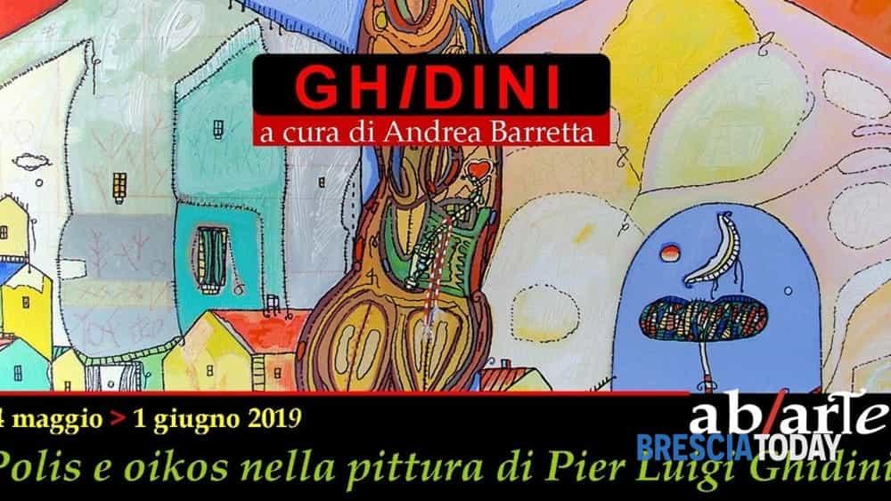 Brescia polis e oikos nella pittura di pier luigi ghidini for Pittura brillantinata oikos
