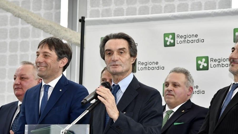 Il presidente lombardo Fontana: