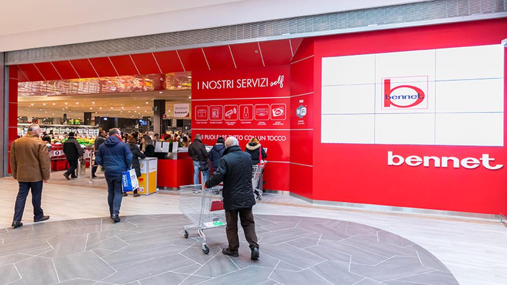 Auchan di Concesio e Mazzano comprati da Bennet: salvi i dipendenti