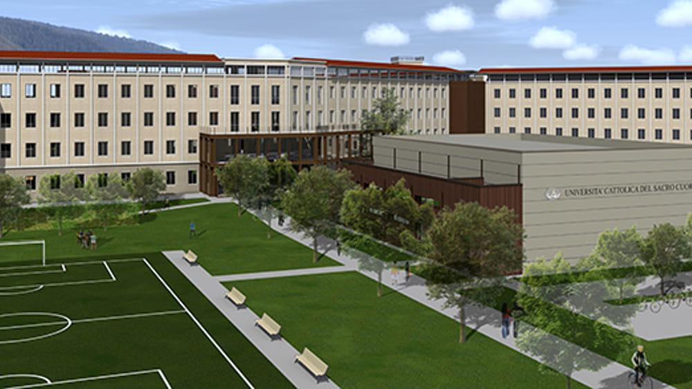 Brescia: il nuovo campus dell'Università Cattolica ...